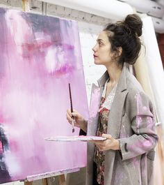 Luomukaapilla: Manuela Bosco - SugarHelsinki Clean Beauty, Art Inspo, Abstract Art, People, Inspiration, Beautiful, Universe, Faces, Sugar