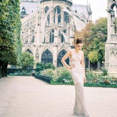 Vogue worshipers & real brides indulge in today's Parisian elopement shoot by Luxe Paris Events