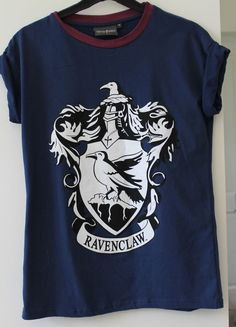 Ladies Primark Harry Potter Ravenclaw Blue Crest T-Shirt 6 8 10 12 14 16 18 20 in Clothes, Shoes & Accessories, Women's Clothing, T-Shirts | eBay