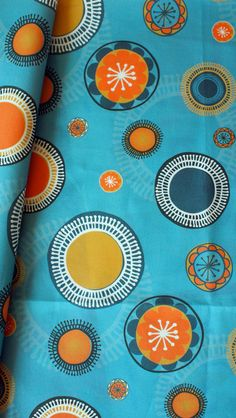 Quirky Suns Fabric by Sylvia Tay  http://www.spoonflower.com/fabric/1774889