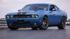 2010 Dodge Challenger SRT Hennessey Twin Turbo by 2010 Dodge Challenger, Dodge Challenger Srt, Modern Muscle Cars, Best Muscle Cars, Chevrolet Malibu, Chevrolet Camaro, Cars Usa, Garage, Dodge Chrysler