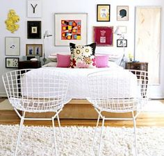 To lean or to hang artwork.  Check out our blog to see what will work best for your space!