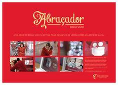 Abraçador: ação de internet de Natal desenvolvida para o Boulevard Shopping BH em 2012.