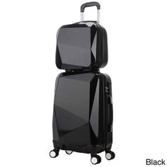 World Traveler Diamond 2-piece carry-on spinner