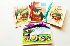French Easter Greeting Cards Joyeuses by StinsonPaperCrafts