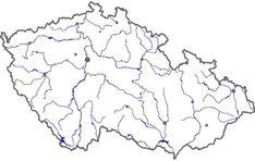 Mapa: Vodstvo Cr Mapa Diagram, Learning, World, Petra, Nature, Bullet Journal, Education, Google, Geography
