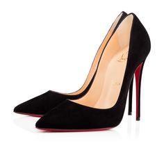 aaff2f764638 So Kate 120 Black Suede - Women Shoes - Christian Louboutin