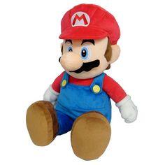 Peluche sous licence officielle NINTENDO Peluche Nintendo du personnage Mario Taille  : 60 cm