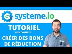 Comment utiliser System io ? TUTORIEL: Créer des bons de réduction Site Wordpress, Challenge, Le Web, Motivation, Content, Plans, Ambition, Pop Up, Business