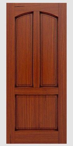 Front Door Design Wood, Wooden Door Design, Bedroom Door Design, Door Design Interior, Rustic Doors, Wooden Doors, Wooden Staircase Railing, Double Bed Designs, Room Partition Designs