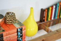 Modern Floating Mantel Shelf