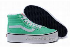f680d824c69c31 Vans SK8-Hi Platform Green Classic Womens Shoes Christmas Deals Mch7B