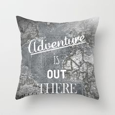 Buy Adventure by Zach Terrell as a high quality Throw Pillow. Worldwide shipping available at Society6.com. Just one of millions of products available.
