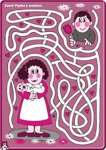 Den matek bludiště