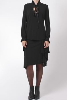 givenchy skirt black jupe 16A4707432 001