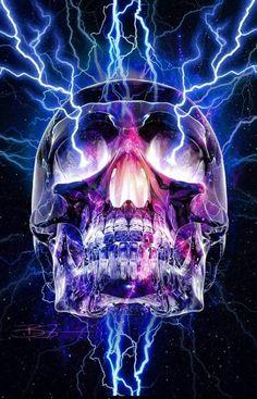 Electric skull