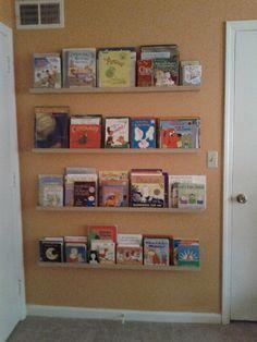 Building a Front-Facing Bookshelf/Bookshelves for a Nursery ...