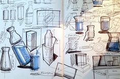 Every idea starts as a sketch Rendering Techniques, Drawing Techniques, Drawing Skills, Drawing Sketches, Drawings, Sketch Design, 3d Design, Art Inspiration Drawing, Design Inspiration