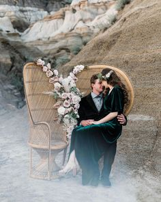 Photo by {orange trunk} Vintage Rentals in Drumheller Badlands with and Image may contain: 1 person, shoes and outdoor Wedding Designs, Wedding Styles, Summer Wedding Decorations, Summer Weddings, Desert Colors, Bridal Musings, Green Wedding Shoes, Orange, Bridal Boutique