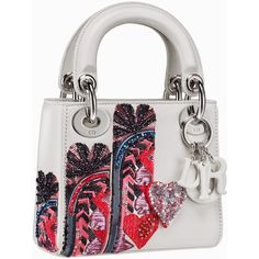 BagAddicts Anonymous Dior's Micro Lady Dior For Pre-Fall ❤ Dior Handbags, Fashion Handbags, Purses And Handbags, Fashion Bags, Dior Bags, Sac Lady Dior, Cristian Dior, Butterfly Bags, Vanity Bag