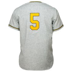 5b20b4a61a9 Ebbets Field Flannels sells a vintage authentic Army 1955 Road Jersey.