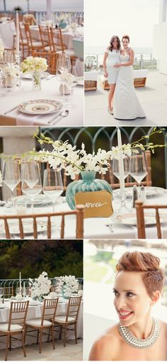 mint & romantic and a little bit of glitz and glamour wedding