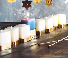 Roost Candle Menorah