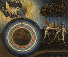 The Creation of the World and the Expulsion From Paradise Giovanni di Paolo di Grazia