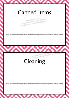 d7a3ab8feb4 How to make a coupon binder and keep it organized (plus printables