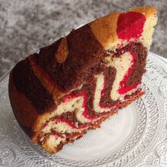 Zebra Cake, gâteau zébré girly