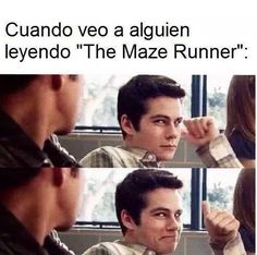 Rank in random. Ever in a need of a laugh or just want to hear some plain funny Harry Potter memes and jokes? Then you have come to the right place. The Maze Runner, Maze Runner Funny, Maze Runner Quotes, Maze Runner Trilogy, Maze Runner Series, Teen Wolf Memes, Fangirl, The Scorch Trials, Funny Memes