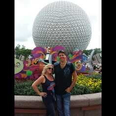 Me & My Babe at Epcot's Food and Wine Festival 2014 sept.