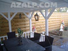 Azalp Royal Class houten veranda 650x350 cm - Hout - Azalp Nederland