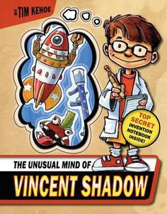 Vincent Shadow: The Unusual Mind of Vincent Shadow 1 by Tim Kehoe Hardcover) for sale online Great Books To Read, Used Books, Toy Inventors, Fiction And Nonfiction, Book Themes, Children's Literature, Book Of Shadows, Inventions, Mindfulness