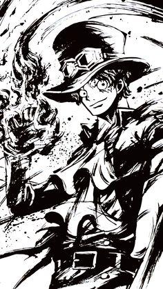 One piece Sabo One Piece Anime, Ace One Piece, Zoro One Piece, Anime One, Manga Anime, Art Anime, Walpaper One Piece, One Piece Seasons, One Piece Tattoos
