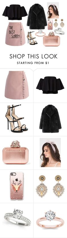 """""""the BEST,,,,SORRY"""" by megi-queen on Polyvore featuring Chicwish, Giuseppe Zanotti, Jimmy Choo, Casetify and Miguel Ases"""