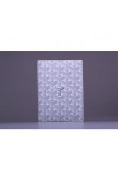 Goyard Passport Holder White