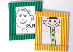 Ritratto del mio papà - Lavoretto Festa del papà Activities For Kids, Crafts For Kids, Art Plastique, Fathers Day, Origami, Education, Mandala, Children, Creative