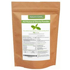 All Natural Stevia Powder - No fillers, Additives or Artificial Ingredients of Any Kind - Highly Concentrated Stevia Extract Sugar Substitute (30g)
