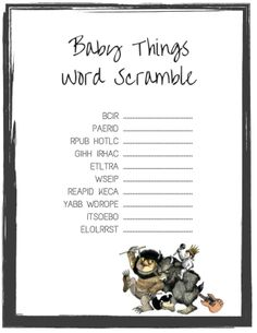 Where-the-Wild-Thing- Are-baby-shower-scramble-game_5x7