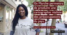 Bonjour, pouvez-vous vous présenter en une phrase? Je m'appelle Laura, j'ai 29 ans, j'habite à Paris dans le 10ème arrondissement et je suis actuellement co-fondatrice et CTO d'une toute jeune Startup nommée Tracktor. Pourquoi vous êtes-vous mise en marche? L'initiative d'En Marche m'a séduite pour plusieurs raisons: elle permet de redonner la parole à Monsieur, …