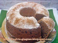 Κέικ με ταχίνι και σταφίδες νηστίσιμο
