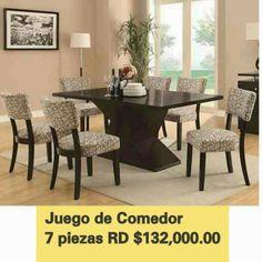 Daliza : Juego de comedor moderno 'Por solo 132,000 pesos o...