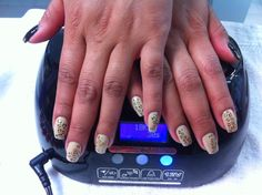 Gelish animal print