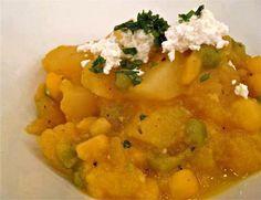 Comida Peruana  Locro de Zapallo (Pumpking Pre-Inca food)