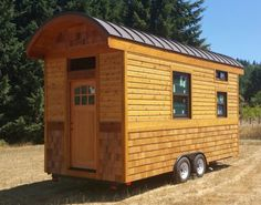 This is how I want to roof on my tiny house but with copper roofing.