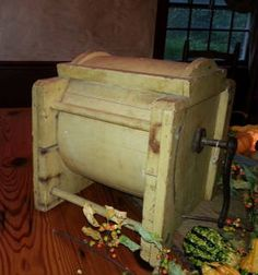I have this same butter churn :)