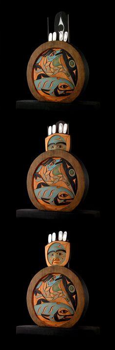 Tim Paul ( Hesquiaht / Nuu Chah Nulth )  - 'ha-wit a-sum' - Sea Chief