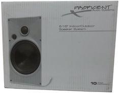 Proficient Audio Systems AW650Blk/PAS41653 6.5-Inch Indoor/Outdoor Speakers (Black) by Proficient. $249.99. Black 6.5-Inch indoor/outdoor speakers with a 6.5-Inch polypropylene woofer.