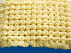 loom board pom pom blanket part 6 - YouTube